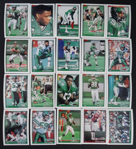 1991 Topps New York Jets Team Set of 20 Football Cards Missing 3 Cards - $3.00