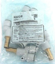 NIB SMC KQ2U12-99 FITTING KQ2U1299 - LOT OF 5
