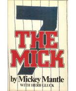 the mick by mickey mantle baseball book new york yankees first edition - $12.99