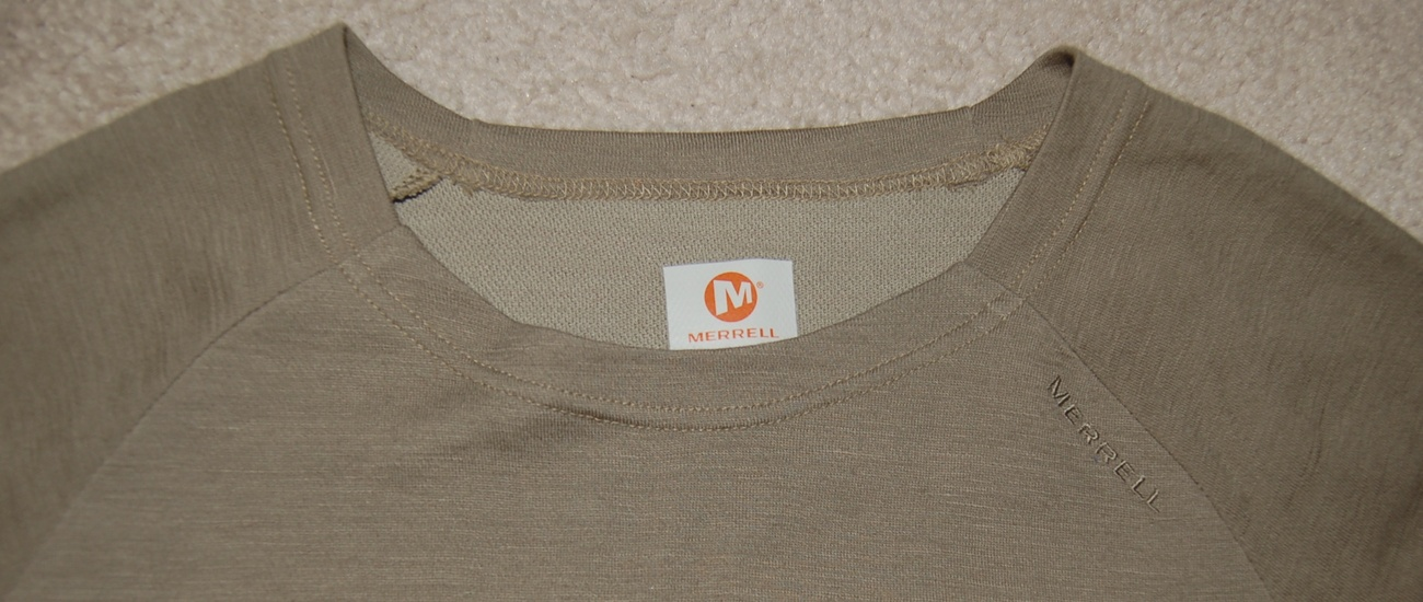 Merrell Womens Top Coppertec Taupe with Orange Small