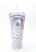 Starbucks Silver Bling Faceted Grid Disco Holiday 2020 Cold Cup Tumbler ... - $45.42