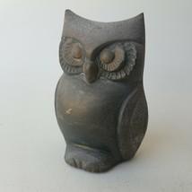 Owl Figurine Statue Home Decor 3.5-Inch Tall - $8.73