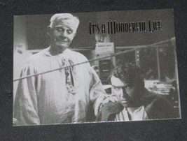 1996 IT'S A WONDERFUL LIFE PROMO CARD 2 CLARENCE - $0.99