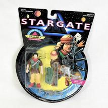"1994 Hasbro Stargate Action Figure 4"" Skaara Rebel Leader NEW - $8.95"