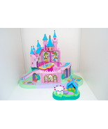 Polly Pocket Magic Kingdom Disney Castle Train Trampoline Circus Tent Parts - $19.95