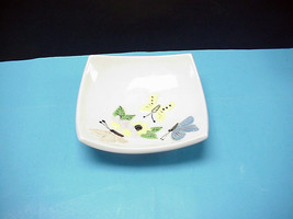VINTAGE CERAMIC BUTTERFLY CANDY DISH - $5.93