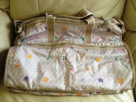 Lesportsac Disney See the World CollectionLarge Weekender Duffle - no charm - $195.00