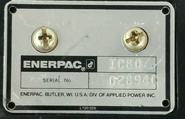 ENERPAC IC-80 LIMIT SWITCH IC80 W/OUT ROLLER image 2
