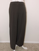 Armani Collezioni Brown Pants Women Slacks Antinea SRL Light virgin wool... - $74.99