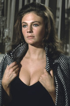 Jacqueline Bisset very busty in low cut black dress early 1970's 18x24 P... - $23.99