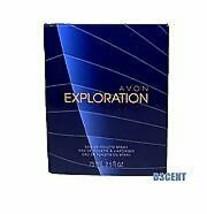 Avon Exploration Eau De Toilette En Vaporisateur Exhilarating Scent 75ml... - $14.84