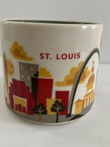 Starbucks St Louis You Are Here YAH Series Coffee Tea Mug Cup 2014 14oz - $12.00