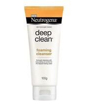 Neutrogena Deep Clean Foaming Cleanser 100gm pack parcel ship in safe pa... - $11.38