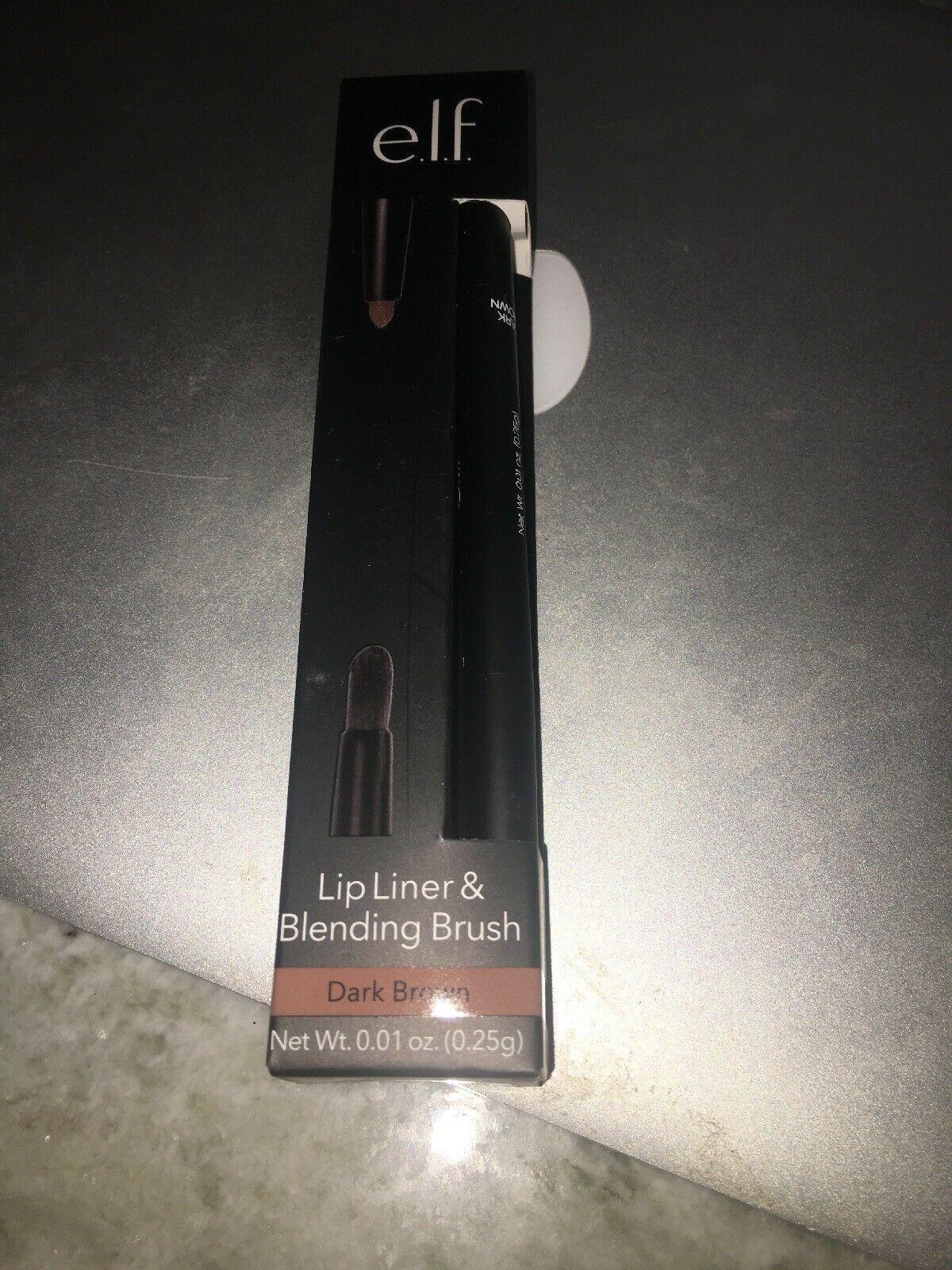 Elf Lip Liner & Blending Brush Dark Brown 82207 - $11.88