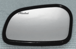 For 95-02 Linc Continental Lt Driver Mirror Glass w Holder OEM Heated w/... - $58.61