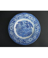 Liberty Blue English Staffordshire Blue White Monticello Bread & Butter ... - $11.64