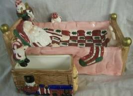 NEW CHRISTMAS WAKE UP SANTA CHIP AND DIP SET CARDINAL - $39.55