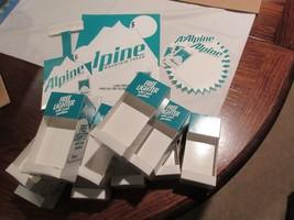 Alpine  Cigarette Lighters , Vintage , New/Old Inventory , 10 PCS. Displ... - $123.75