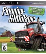 Farming Simulator - PlayStation 3 [PlayStation 3] - $9.32