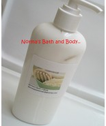 vanilla and peppermint shea butter body lotion - $10.00