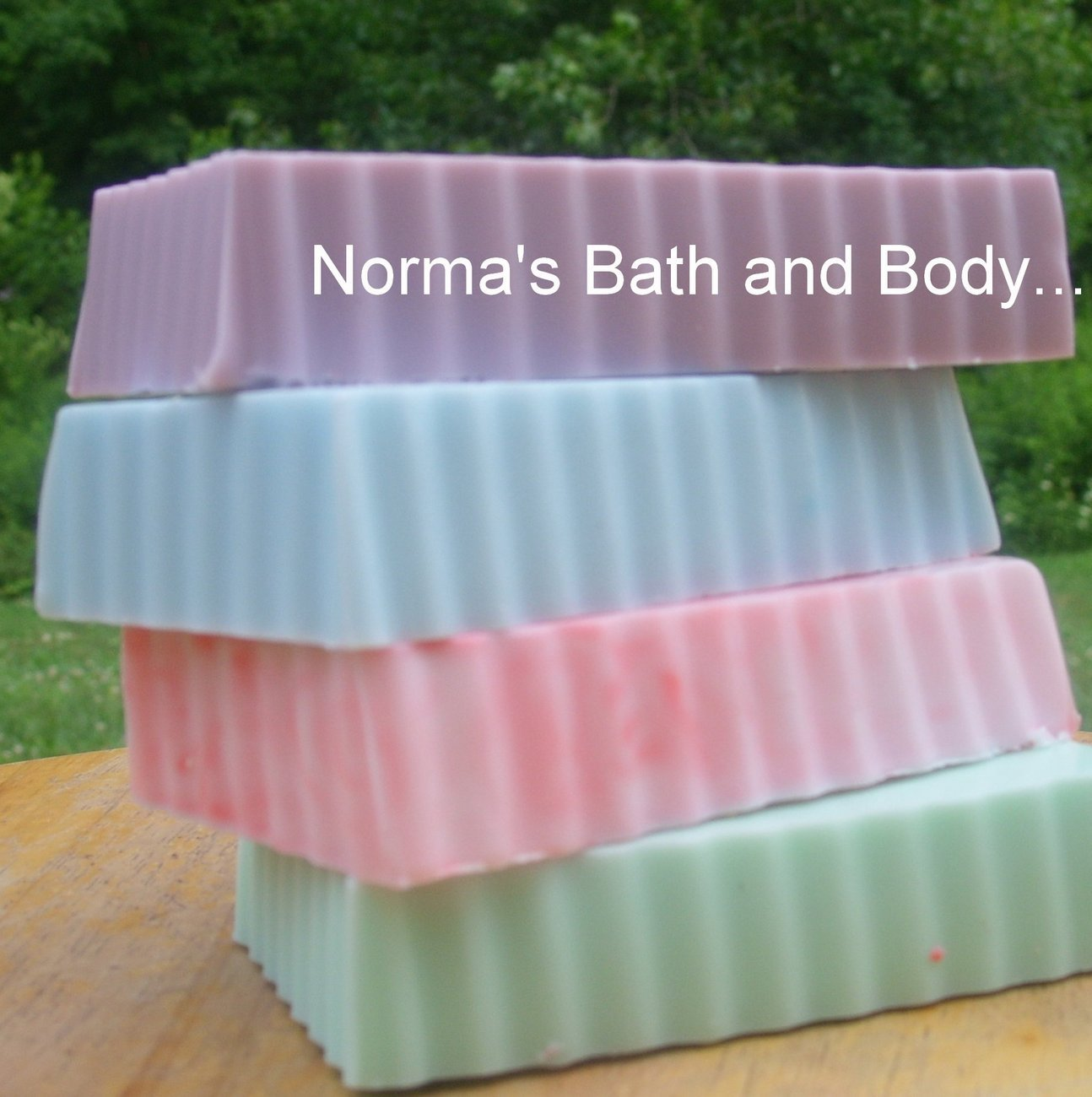 Primary image for shea butter soap pack. set of 4