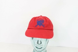 56ee3dbcc861d Vintage Polo Ralph Lauren Spell Out Crest Adjustable Cotton Dad Hat Cap Red  -  44.50