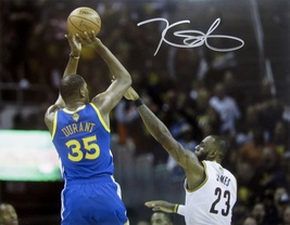 KEVIN DURANT AUTOGRAPHED HAND SIGNED 11x14 GOLDEN STATE WARRIORS PHOTO w... - $159.99