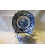 "Vintage Wood & Sons English Ironstone Cup and Saucer, ""Woodland"" Pattern... - $374,87 MXN"