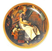 Knowles Fine China Collector Plate - DREAMING IN THE ATTIC by Norman Roc... - $13.95