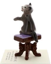 Hagen-Renaker Miniature Ceramic Figurine Keyboard Cat on Bench Playing Piano image 7