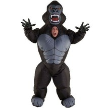Inflatable Gorilla Costume ADULT King Kong Halloween Morphcostumes 6' Tall - $44.04