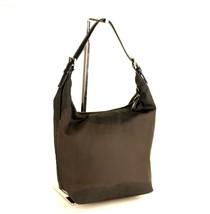 100% Authentic Coach New York Grey Nylon Hobo Shoulder Bag F0K-7423 - $147.51