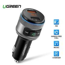 Ugreen Car Charger Bluetooth FM Transmitter Quick 3.0 Fast Charger for X... - $25.99