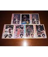 Collection of 7 Vintage 1978 Topps Allstar NBA Basketball Cards - $24.95