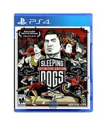 Sleeping Dogs: Definitive Edition- PlayStation 4 [video game] - $25.73