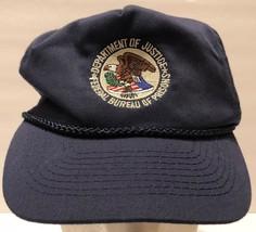 VTG Department of Justice Federal Bureau of Prisons Snapback Hat Governm... - $37.86