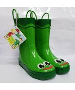 NEW Western Chief Boys Printed Rain Boot Fritz the Frog 2m US Toddler - $18.70