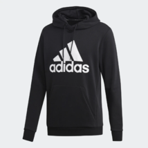 adidas Must Haves Badge Of Sport Pullover Black / White Hoodie Adult XL - $49.49