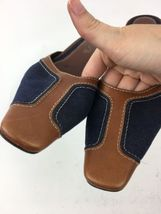 Size Womans Blue Sole Leather Denim Pointy Brown Heels 6 Unisa Mules Leather wEOdUZZq