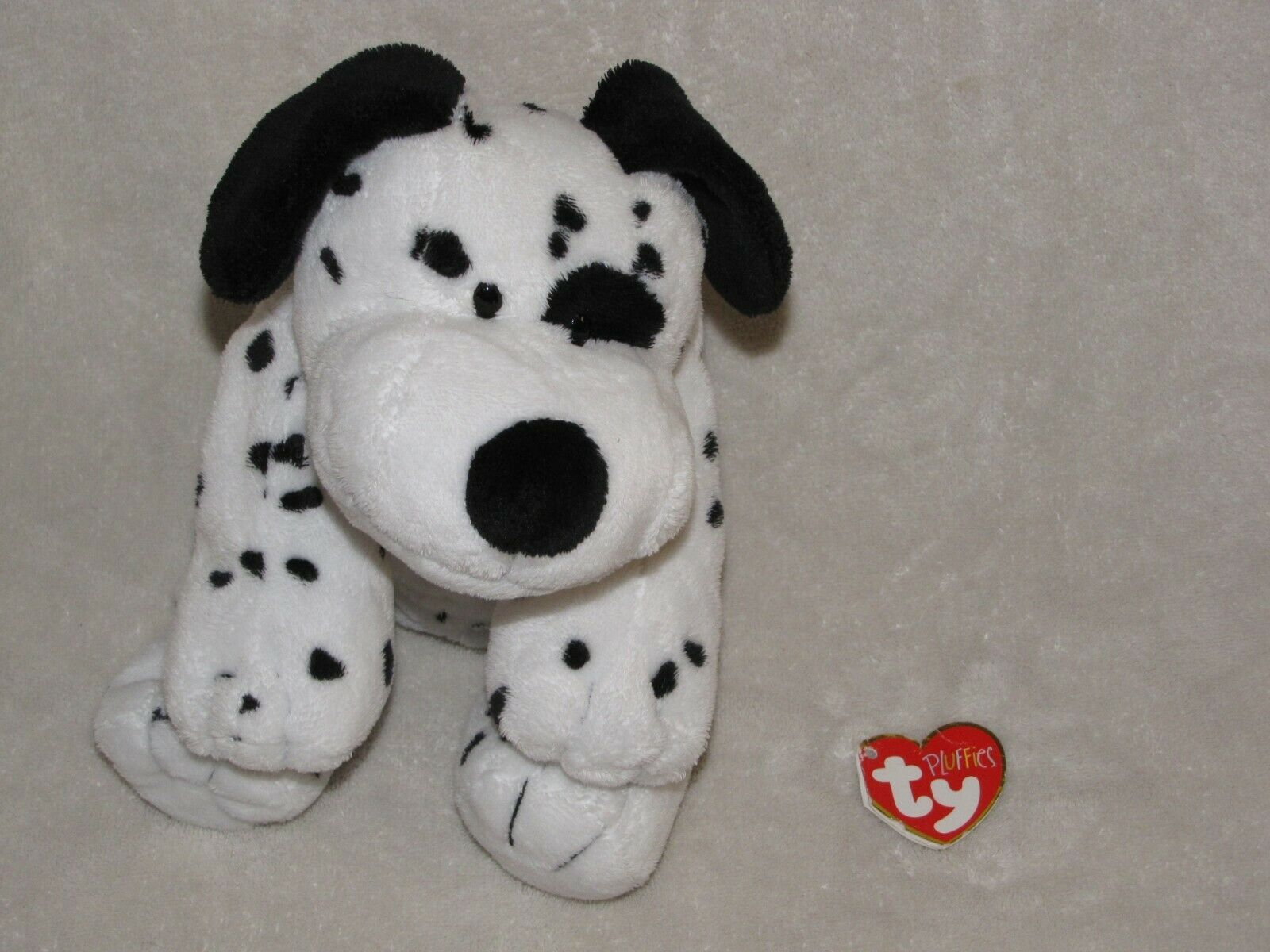 Primary image for Ty Pluffies DOTTERS The Dalmatian PUPPY Dog 2006 Plush BABY Beanie 2006 Plastic