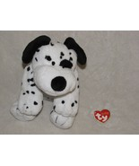 Ty Pluffies DOTTERS The Dalmatian PUPPY Dog 2006 Plush BABY Beanie 2006 ... - $24.74
