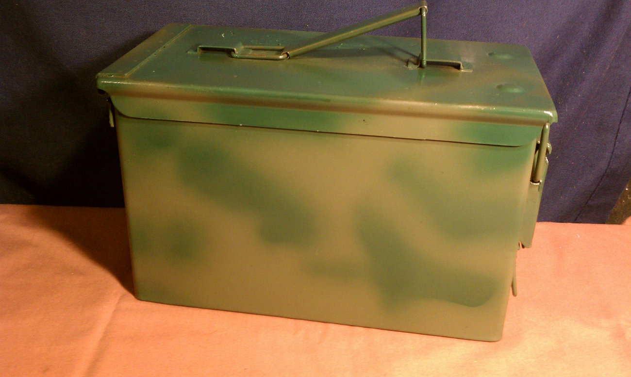 Ammo Can Geocache - Fully Loaded