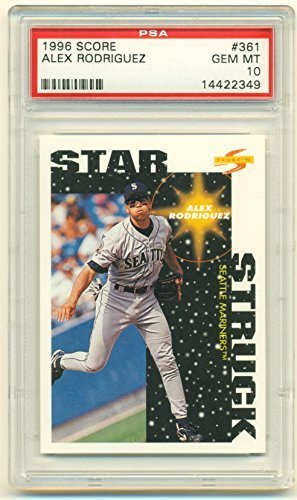 1996 Score Alex Rodriguez #361 PSA 10 Gem Mint Card - New York Yankees Collectib