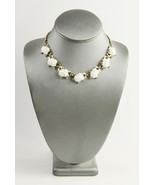 VINTAGE Jewelry 1953 TRIFARI ALFRED PHILIPPE WHITE GLASS FRUIT SALAD NE... - $150.00