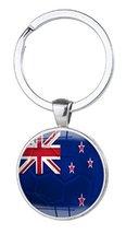 National Country Flag Keychain Key Chain Country Football Soccer Team Ke... - $4.84
