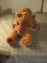 2000 TY Beanie Baby Niles the Tan Brown Camel Beanbag Plush Toy Doll - $5.94