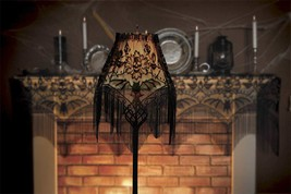 "Heritage Lace Gothic Black Lace Bat Skull Halloween Gala Decor 22"" x 60"" - €33,22 EUR"