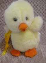 """Rare Easter Pets Easter Unlimited Inc. Plush Duck  8"""" Squeeky Toy B63 - $14.36"""