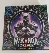 Marvel Black Panther Wakanda Forever Board Game New - $29.00