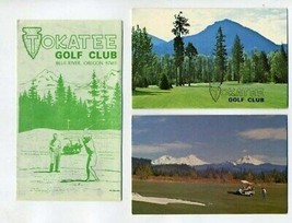 2 Tokatee Golf Club Score Cards & Brochure  Blue River Oregon - $24.72